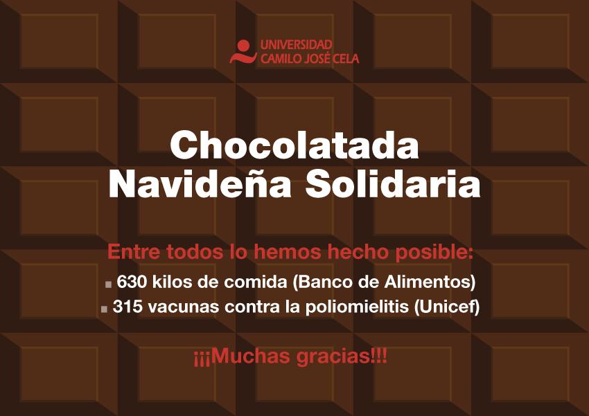 Chocolatada Navideña Solidaria